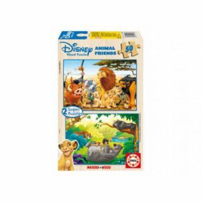 Educa Disney zvířátka 2v1