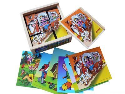Kubus - kostky 9 ks, Čtyřlístek cena od 125 Kč