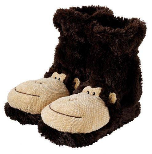 AROMA HOME Ponožkové bačkory Opice