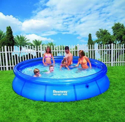ACRA Samostavěcí bazén Bestway 366 x 76 cm