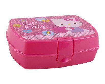 BANQUET Hello Kitty svačinový box cena od 85 Kč