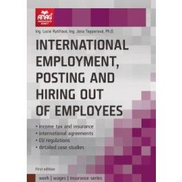 Lucie Rytířová: International employment, posting and hiring out of employees cena od 448 Kč