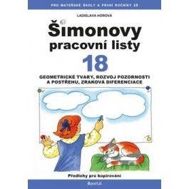 Ladislava Horová: Šimonovy pracovní listy 18 cena od 110 Kč
