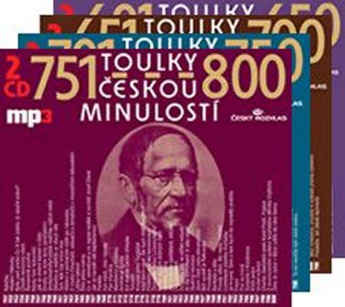 Josef Veselý: Toulky českou minulostí - komplet 601-800 - 8CD/mp3