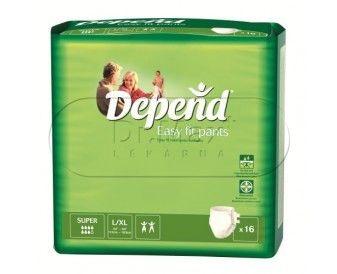 Kimberly-Clark DEPEND Easy Fit Super Inkontinenční kalhotky