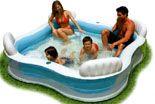SEDCO Intex nafukovací bazén - čtvercový 229 cm