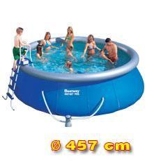 Bestway Nadzemní bazén 4,57 x 1,22 m bez filtrace