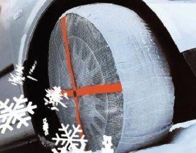Autosock Textilní sněhové řetězy 62