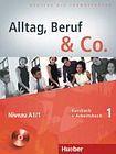Hueber Verlag Alltag, Beruf a Co. 1 Kursbuch + Arbeitsbuch mit Audio-CD zum Arbeitsbuch cena od 380 Kč