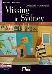 XXL obrazek BLACK CAT - CIDEB Black Cat MISSING IN SYDNEY Book + CD ( Reading a Training Level 1)