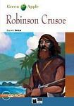 BLACK CAT - CIDEB BLACK CAT READERS GREEN APPLE EDITION 1 - ROBINSON CRUSOE + CD-ROM cena od 225 Kč