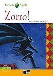 BLACK CAT - CIDEB BLACK CAT READERS GREEN APPLE EDITION STARTER - ZORRO! + CD cena od 198 Kč
