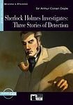 BLACK CAT - CIDEB Black Cat Sherlock Holmes Investigates + CD ( Reading a Training Level 3) cena od 243 Kč