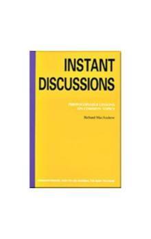 Heinle BOOKS FOR TEACHERS: INSTANT DISCUSSIONS cena od 669 Kč
