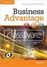 Cambridge University Press Business Advantage Advanced Classware DVD-ROM cena od 2696 Kč