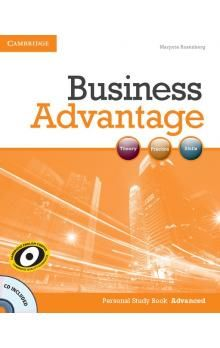 Cambridge University Press Business Advantage Advanced Personal Study Book with Audio CD cena od 192 Kč