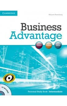 Cambridge University Press Business Advantage Intermediate Personal Study Book with Audio CD cena od 188 Kč