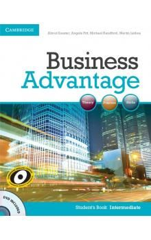 Cambridge University Press Business Advantage Intermediate Student´s Book with DVD cena od 456 Kč