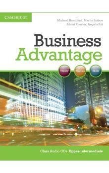 Cambridge University Press Business Advantage Upper-intermediate Audio CDs (2) cena od 576 Kč