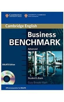 XXL obrazek Cambridge University Press Business Benchmark Advanced Student´s Book with CD-ROM BULATS edition