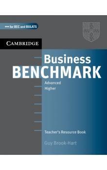 Cambridge University Press Business Benchmark Advanced Teachers Resource Book BEC and BULATS edition cena od 352 Kč