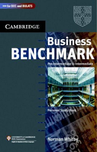 Cambridge University Press Business Benchmark Pre-Intermediate to Intermediate Personal Study Book BEC and BULATS Edition cena od 352 Kč