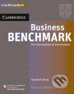 Cambridge University Press Business Benchmark Pre-Intermediate to Intermediate Teacher´s Resource Book cena od 361 Kč