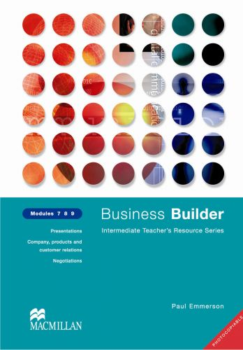 Macmillan Business Builder Photocopiable TR Lvls 7-9 cena od 1120 Kč