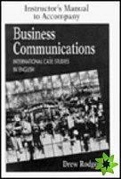 Cambridge University Press Business Communications Instructor´s Manual cena od 196 Kč