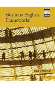 Cambridge University Press Business English Frameworks Book cena od 1 376 Kč