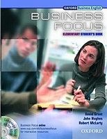 Oxford University Press BUSINESS FOCUS ELEMENTARY STUDENT´S BOOK + CD-ROM cena od 577 Kč