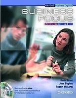Oxford University Press BUSINESS FOCUS ELEMENTARY STUDENT´S BOOK + CD-ROM cena od 437 Kč