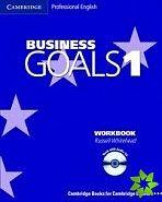 Cambridge University Press Business Goals Level 1 Workbook and Audio CD cena od 319 Kč