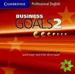 Cambridge University Press Business Goals Level 2 Audio CD cena od 308 Kč