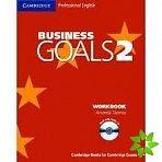 Cambridge University Press Business Goals Level 2 Workbook and Audio CD cena od 319 Kč