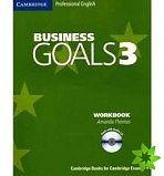 Cambridge University Press Business Goals Level 3 Workbook and Audio CD cena od 319 Kč