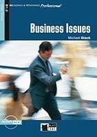 BLACK CAT - CIDEB BUSINESS ISSUES + CD ( Reading a Training Professional Level 3) cena od 216 Kč