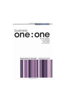 Oxford University Press Business one:one Advanced Teacher´s Book cena od 253 Kč