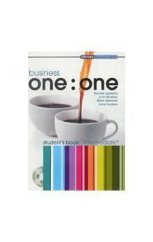 Oxford University Press Business one:one Intermediate Student´s Book with MultiROM cena od 490 Kč