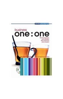 Oxford University Press Business one:one Pre-Intermediate Student´s Book with MultiROM cena od 557 Kč