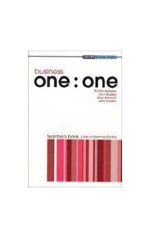 Oxford University Press Business one:one Pre-Intermediate TEACHER´S BOOK cena od 273 Kč