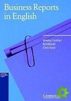 Cambridge University Press Business Reports in English Book cena od 652 Kč