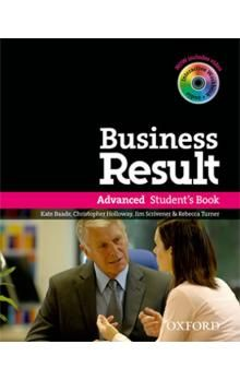 XXL obrazek Oxford University Press Business Result Advanced Student´s Book with DVD-ROM