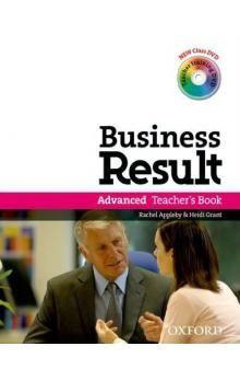 Oxford University Press Business Result Advanced Teacher´s Book with DVD-Video cena od 523 Kč