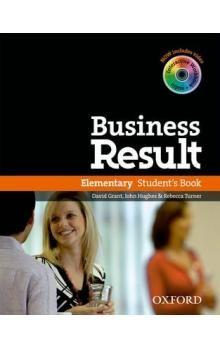David Grant, J. Hughes, R. Turner: Business Result Elementary Student´s Book cena od 526 Kč