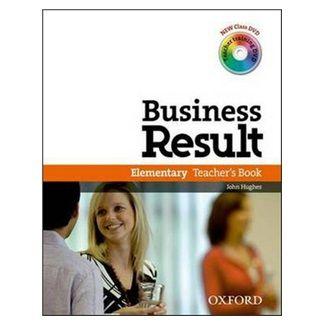 J. Hughes: Business Result Elementary Teacher´s Book cena od 445 Kč