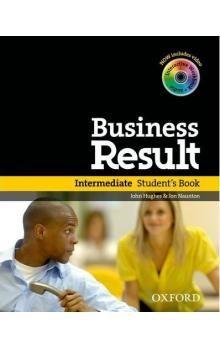 Oxford University Press Business Result Intermediate Student´s Book with DVD-ROM cena od 502 Kč