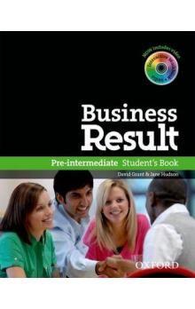J. Hudson, David Grant: Business Result Pre-intermediate Student´s Book cena od 500 Kč