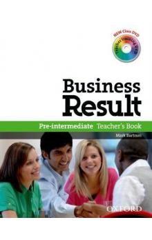 M. Bartram: Business Result Pre-intermediate Teacher´s Book cena od 498 Kč