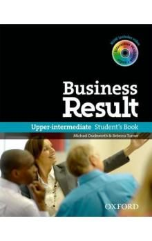 Oxford University Press Business Result Upper Intermediate Student´s Book with DVD-ROM cena od 526 Kč